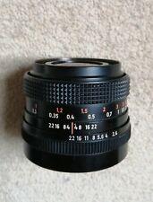 Zeiss Jena Flektogon 35mm f2.4 M42 Mount