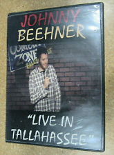 """Johnny Beehner """"Live In Tallahassee"""" (DVD 2-Disk) Not Rated Genre: Comedy USA"""