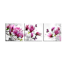 Canvas Print Picture Paintings Photo Wall Art Home Decor Pink Flower Gift Floral