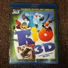 Rio 2 Disc Set - Blu-Ray Feature Film and Bonus + Digital Copy (No 3D or DVD)