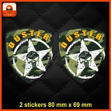 0076 Sticker DACIA DUSTER ARMY tuning racing aufkleber adesivi pegatina decal