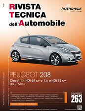 Manuale tecnico di riparazione e manutenzione dell'auto - Peugeot 208 diesel