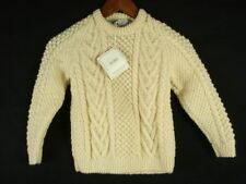 Kid's Ronnie Hannigan Knitwear Cable knit Irish fisherman sweater