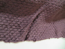 Duralee Fabrics Pattern Hobnail Color Black Cherry Chenille Velvet 17 In x 51 In