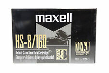 10x Maxell 8mm Data Cartridge Helical Scan HS-8160 7GB 160m/525ft sony exabyte