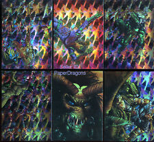 MELTING POT - Six Card Simon Bisley Prism Chase Set