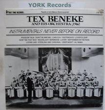 TEX BENEKE & HIS ORCHESTRA - 1946 - Ex Con LP Record