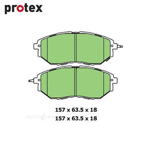 Front Brake Pad Set FOR Subaru Forester SJ Liberty BN Outback WRX 03- On DB1722