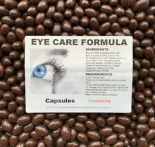 The Vitamin Eye Care Formula 550mg & Lutein 10mg Includes Bilberry 180 capsules