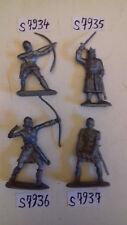 (12) soldats chevaliers romains gaulois années 1970/90 par lots de 2 au choix