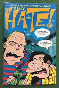 Peter Bagge HATE #18 Fantagraphics Books Modern Age indy comic vf/nm