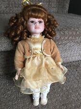 "The Collector's Choice Dan Dee 11"" Porcelain Doll - Cute!!!"