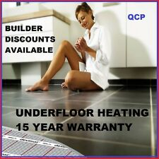 Floor heating Underfloor mat kit 4 SqM under tile underfloor undertile bathroom