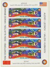 BHUTAN 1975, Apollo-Sojuz two suberb very scarce U/M MS