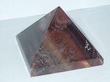 cristalloterapia PIRAMIDE OCCHIO DI TIGRE ROSSO bue metafisico piramidoterapia