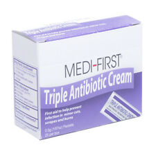 Triple Antibiotic Ointment Individual Packets 25/box Medi-First