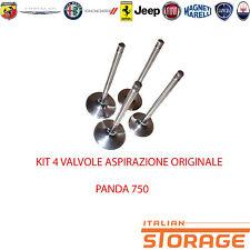 FIAT PANDA 750 KIT 4 VALVOLA ASPIRAZIONE NUOVO ORIGINALE 7537668