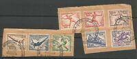 German Third Reich Stamp --   1936 Olympics SET - Postmarked.