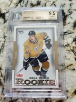 2006-07 SHEA WEBER TIFFANY COLLECTION ROOKIE BGS 9.5 GEM MINT VERY RARE HABS RC