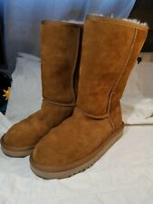 Koolaburra By UGG Women's Classic Tall Chestnut Boot US Sz 7 Excellent!!