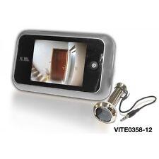 """VI.TEL SPIONCINO DIGITALE ART. E0358 SCHERMO LCD da TFT 3,5"""""""
