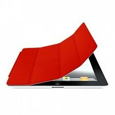 RED  Slim Polyurethane Magnetic iPad 2 3 4 Smart Cover Case Stand High Quality