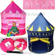 Childrens Kid Pop Up Outdoor Castle Play Tent Indoor Playhouse Den Garden Summer