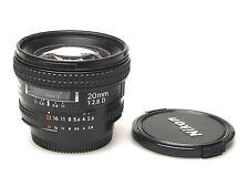 Nikon AF Nikkor 20mm F2.8 D