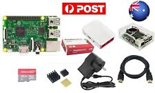New 7 In 1 Kit Raspberry Pi 3 Model B Module&Two Cases&HDMI&32G SD Card&Heatsink