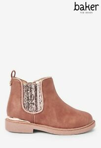 Rose Gold Ted Baker Boots Size 8