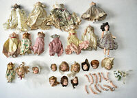 Lot 12 Vintage Late 1940s Dolls~Duchess~Plastic Molded Arts~Repair/Restoration