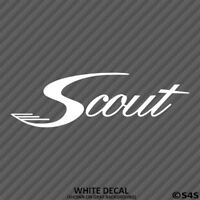 Scout Boats Outdoor Sports/Boating Vinyl Decal Sticker - Choose Color/Size