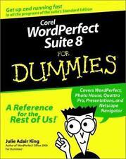 NEW - Corel WordPerfect Suite 8 For Dummies by King, Julie Adair
