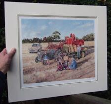 Massey Harris Ferguson 780, Ferguson Tractor, Morris Minor  by Steven Binks