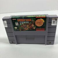 Donkey Kong Country 1 Super Nintendo Snes Tested With Video Game Rental Stickers
