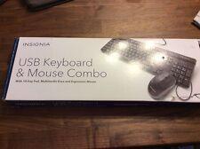Insignia Usb Keyboard & Mouse Combo