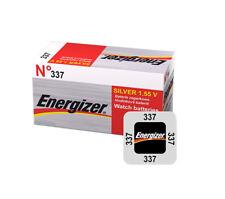 1 x ENERGIZER 337 SR416 BATTERY 1.5V SILVER BATTERIES D337 V337 SR416SW