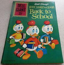 Walt Disney's Huey Dewey Louie Back to School 49, 1961  (VF 8.0) 40% off Guide