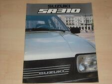 61129) Suzuki SA 310 Prospekt 11/1983