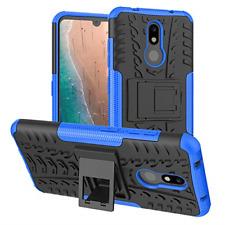 Nokia 3V Case,Nokia 3.2 Case,PUSHIMEI Air Cushion Heavy Duty Shockproof with PC