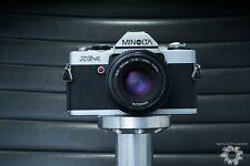 Minolta Xg-A 35 mm Slr Film Camera with 50mm F2