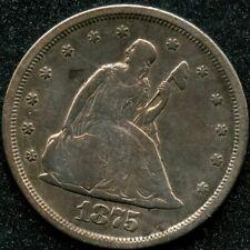 1875-S (VF) 20C TWENTY CENT PIECE