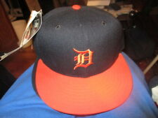 NWOT Blue With Orange Bill DETROIT TIGERS Road Hat 6 7/8 New Era 5950