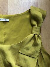 Damen Bluse Top Gr. 36 Gelb