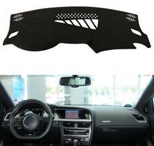 For Audi A4 2008-2016 Black Dashmat Dashboard Mat Dash Cover Sun Visor Pad