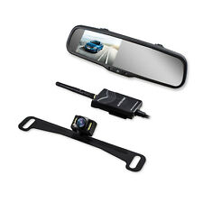 Wireless Car Rear View Backup Camera Reverse System + 4.3'' LCD Mirror Monitor