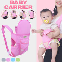 Infant Baby Carrier Adjustable Wrap Sling Backpack Ergonomic For 0-36  U