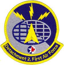 USAF FIRST SIR FORCE DETACHMENT 2 PATCH