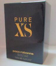 Paco Rabanne Pure XS EDT 100ml Eau de Toilette NEUF 100% Authentique Homme