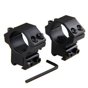2pcs Medium mount 25.4mm scope rings for 11mm Picatinny Rail Hunting Adapter